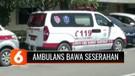 Viral! Ambulans Dipakai untuk Antar Seserahan Pernikahan, Ada Orang ber-APD Lengkap di Dalamnya
