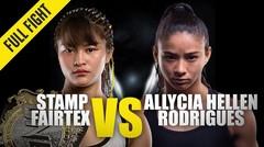 Stamp Fairtex vs. Allycia Hellen Rodrigues - ONE Championship Full Fight