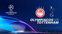 Full Match - Olympiacos Vs Tottenham I UEFA Champions League 2019/2020