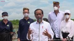 Keterangan Pers Presiden RI Setelah Melakukan Penanaman Pohon Mangrove, Tana Tidung, 19 Oktober 2021