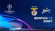 11 Dec 2019 | 03:00 WIB - Benfica vs Zenit - Liga Champions UEFA 2019-2020
