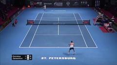 Match Highlight | Evgeny Donskoy 2 vs 0 Egor Gerasimov | ATP St. Petersbug Open 2020