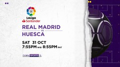 Real Madrid vs Huesca - Sabtu, 31 Oktober 2020 | La Liga Santander