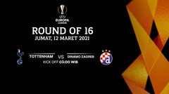 Tottenham vs Dinamo Zagreb - Round Of 16 I UEFA Europa League 2020/21