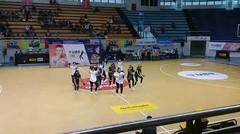 lomba dance DBL dari SMK TRISILA SBY