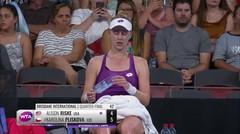 Match Highlight | Alison Riske 0 vs 2 Karolina Pliskova | WTA Brisbane International 2020