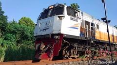 Kereta Api GAJAYANA Lokomotif CC 206 13 24 DIPO INDUK SDT