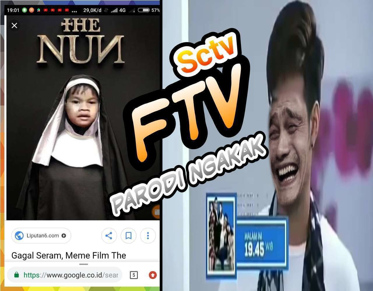 FTV SCTV Parodi Ngakak Video Lucu Gokil Sinetron Tv Episode 23