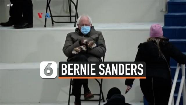 Streaming Meme Bernie Sanders Saat Inaugurasi Membawa Berkah Vidio