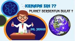 Kenapa sih planet berbentuk bulat? kenapa tidak kotak atau bentuk yang lainnya