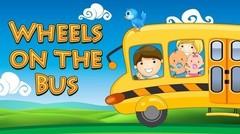 Wheels On The Bus - Nursery Rhymes - Kids Popular Song