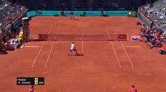 Match Highlights | Alexander Zverev 2 vs 0 Rafael Nadal | Mutua Madrid Open 2021