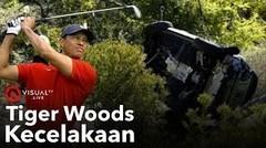 Pegolf Tiger Woods Kecelakaan Hebat, Berikut Kronologinya