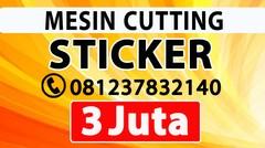 MESIN PRINT STICKER MURAH PULO GADUNG JAKARTA TIMUR MATRAMAN JATINEGARA  DISTRIBUTOR JUAL Alat Kating Polyflex Jinka Cameo Graphtec Pemotong Stiker Cating Potong Vinyl