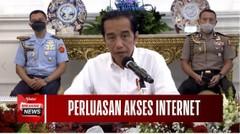 Jual-Beli Online Meningkat, Jokowi : Segera Lakukan Percepatan Internet di Pedesaan!