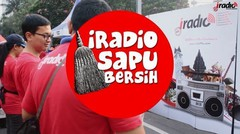 #IRadioSapuBersih: Jagalah Kota Jakarta untuk Selalu Bersih