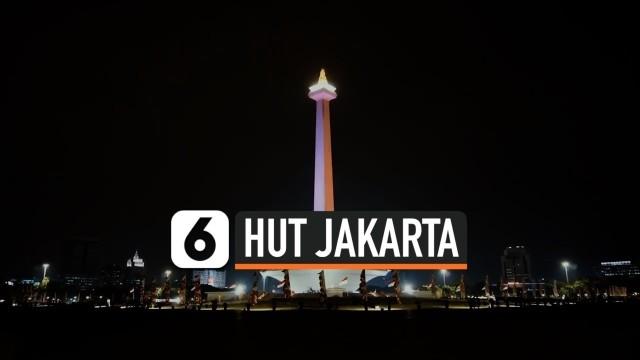 HUT ke-493 DKI, Anies Sebut Jakarta Kota Tangguh - Vidio.com