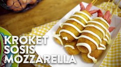 Resep Kroket Sosis Mozzarella | Mudah Murah #38