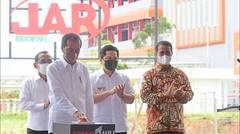 Presiden Jokowi Resmikan Pabrik Biodiesel, Tanah Bumbu, 21 Oktober 2021