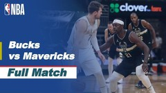 Full Match - Milwaukee Bucks vs Dallas Mavericks I NBA Reguler Season 2020/21