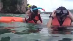 Anisa Rahma dan MILOVA liburan ke Thailand
