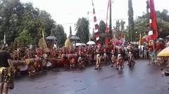 Parade Budaya Hut Kota Singaraja Ke - 413 Kecamatan Buleleng