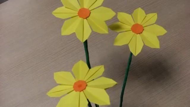 Membuat Bunga Dari Kertas Vidio Com