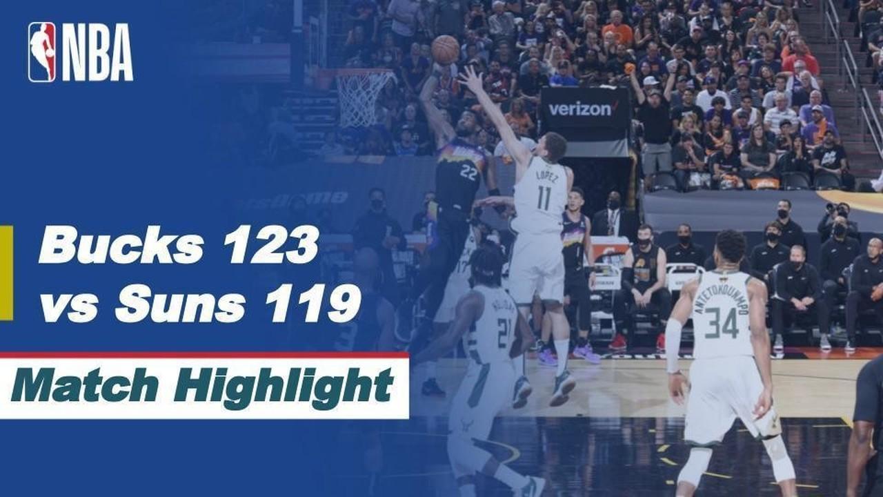 Streaming Match Highlight | Milwaukee Bucks 123 vs 119 ...