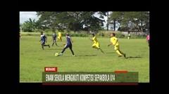 Enam Sekolah Mengikuti Kompetisi Sepakbola U14
