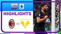 Match Highlights | AC Milan 3 vs 2 Hellas Verona | Serie A 2021/2022