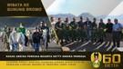 Kasad dan Ketua Umum Persit Kartika Chandra Kirana Berwisata ke Gunung Bromo