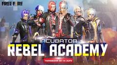 Rebel Academy Incubator Akan Hadir di Free Fire Pada 14 Juni!