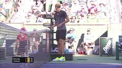 Match Highlight | Alexander Zverev 2 vs 0 Andy Murray | BNP Paribas Open 2021