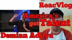 ReacVlog #11 Ngabuburit Sambil Nonton Trick Sulap #Demian Aditya #AGT demian #agtdemian