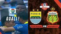 PERSIB GOOOLLL! Tandukan Ezechiel Ndouassel Menyamakan Kedudukan Menjadi 1-1