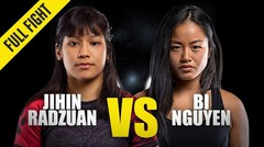 Jihin Radzuan vs. Bi Nguyen | ONE Championship Full Fight