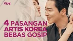 4 Pasangan Artis Korea Bebas Gosip