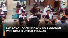 Lembaga Takmir Masjid NU Sediakan Wifi Gratis untuk Pelajar