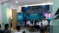 Dermaster Clinic yang tepat pada 9 Maret 2020 membuka cabang di Bali. dr. Andy  Wijaya, Head Doctor Dermaster Cabang Bali mengatakan s