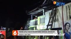 Kebakaran Rumah Dua Lantai