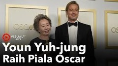 Aktris Korea Youn Yuh-jung Menang Piala Oscar