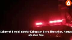 6 Rumah Warga di Blora Ludes Dilalap Api Gegara Bediang Sapi