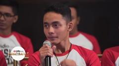 Kesan Falah saat Press Conference (vlog day 5)