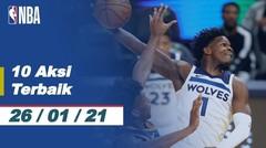 Top 10 | Aksi Terbaik - 26 Januari 2021 | NBA Regular Season 2020/21