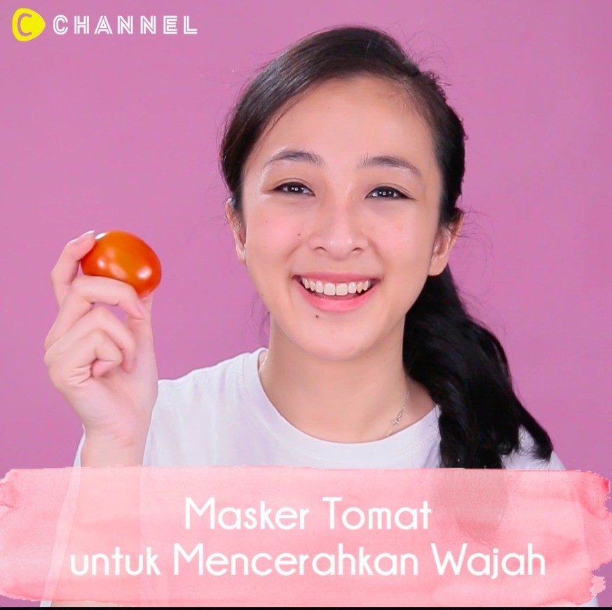 Streaming Masker Tomat Untuk Mencerahkan Wajah Vidio