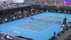 Match Highlights | Alexa Guarachi/Desirae Krawczyk 2 vs 1 Hayley Carter/Lusia Stefani | WTA Adelaide International 2021