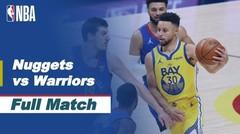Full Match - Denver Nuggets vs Golden State Warriors I NBA Reguler Season 2020/21