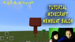 TUTORIAL GAME MINECRAFT MEMBUAT BALON