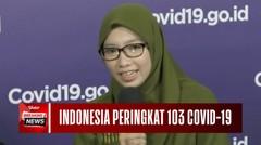 Covid-19 Dalam Angka, Ternyata Indonesia Menduduki No. 103 di Dunia?