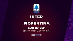 Inter vs Fiorentina - Minggu, 27 September 2020 | Serie A 2020